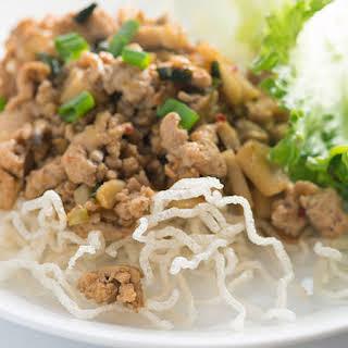 Copycat PF Chang™ Chicken Lettuce Wraps.