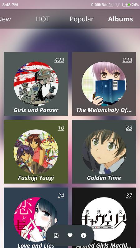 +100000 Anime Wallpaper screenshots