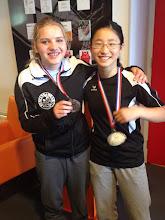 Photo: Enli wint zilver en Jiska brons, gefeliciteerd dames!