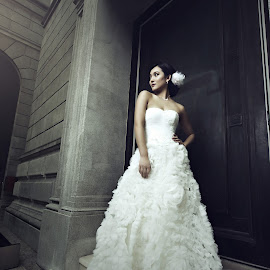 Wedding  by Greg Neo - Wedding Bride ( model, wedding photography, style, editorial, wedding, photographer, photoshoot, gown, bride, photography )