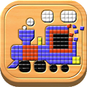 Kids Mosaic Art Shape and Color Picture Puzzles icon