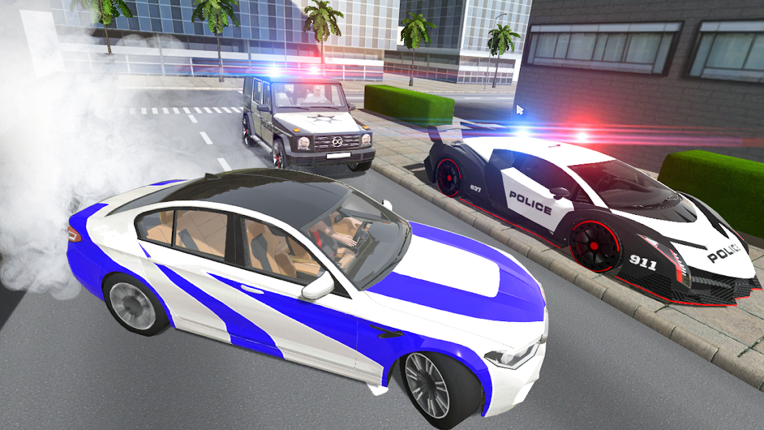 Police VS Crime