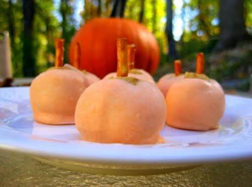 "Pumpkin Spice Truffles ""These are really yummy and super easy to make!..."