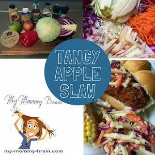 Tangy Apple Slaw