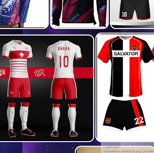 Design Jersey Sportwear - náhled