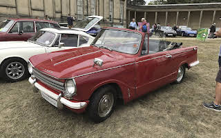 Triumph Herald 13-60 Convertible Rent East Midlands