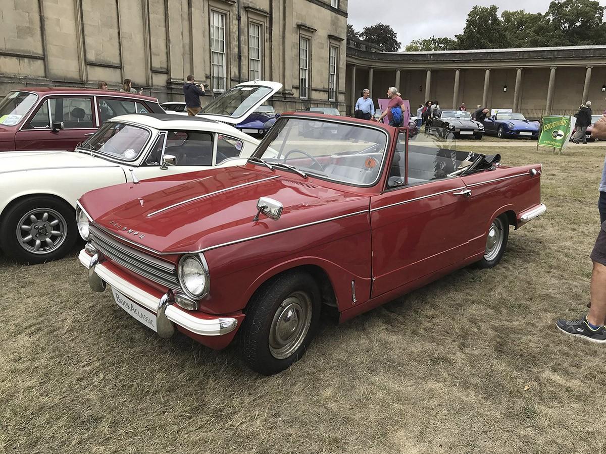 Triumph Herald 13-60 Convertible Hire Launton
