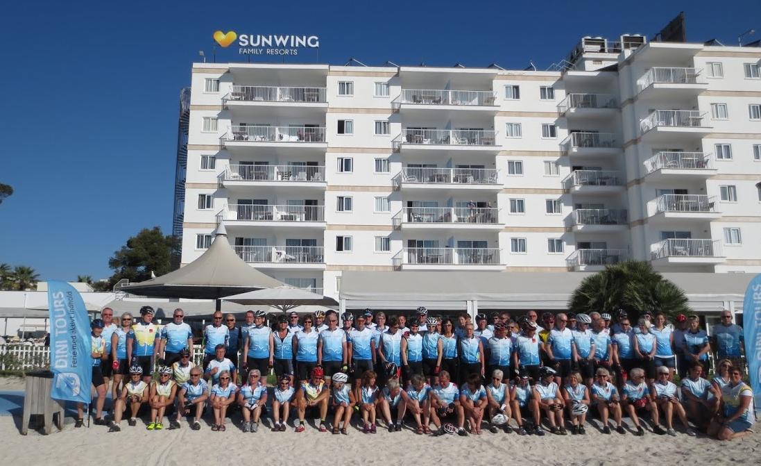 Hotel Sunwing set fra standen