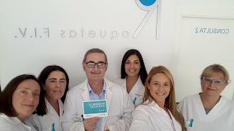 El equipo de la clínica Roquetas FIV
