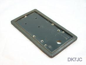 Photo: Grundplatte mit Gummiplatte für Baumuster T 1 Taste KIK  Konski&Krüger *001-10