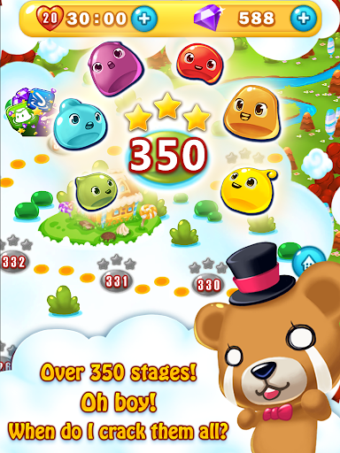 Jelly Jelly Crush - In the sky screenshots 11