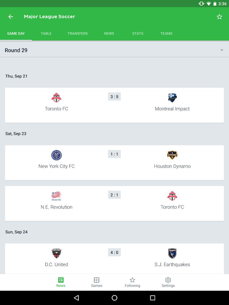 Onefootball Live Soccer Scores Screenshot 6