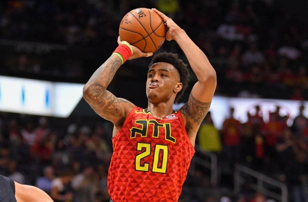 John Collins jump shot - Fantasy Basketball Draft Rankings - overrated