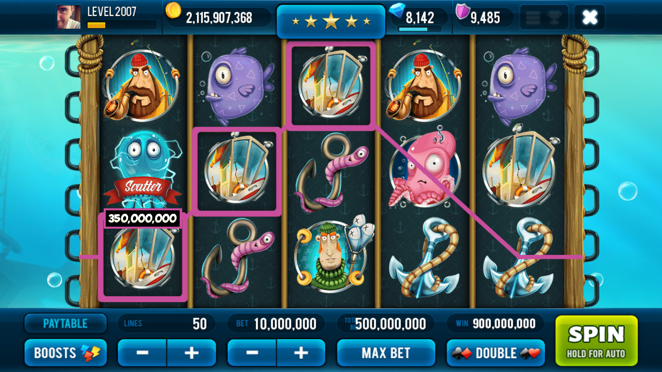 RF Big Catch Slot Machine - Play Online Video Slots for Free