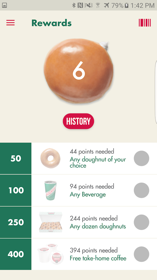 Krispy Kreme- screenshot