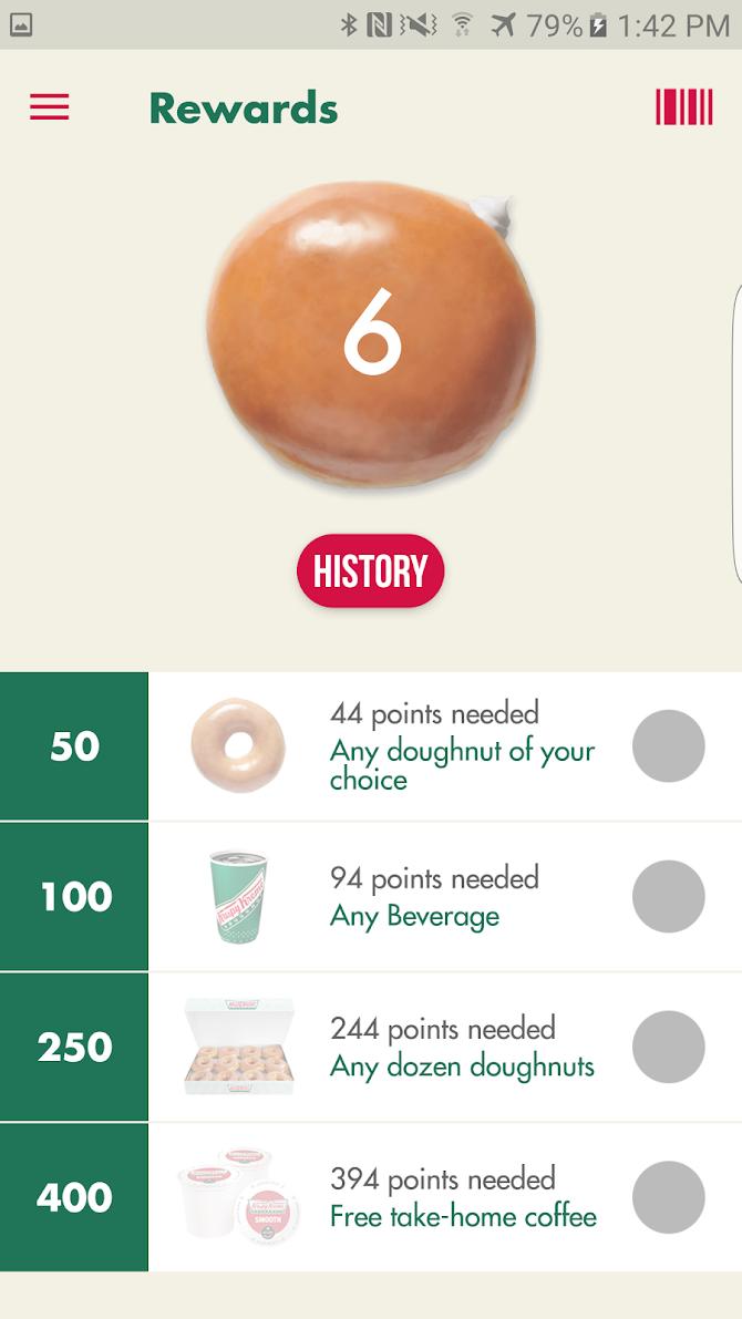 Krispy Kreme Android 4