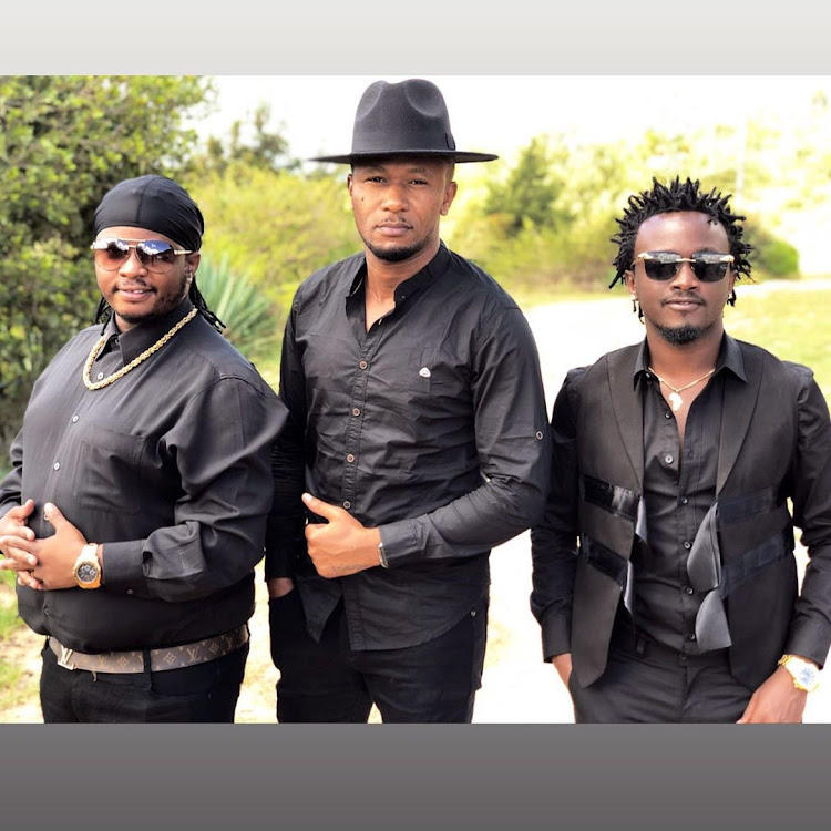 Celebrities during funeral of Mash Mwana's dad