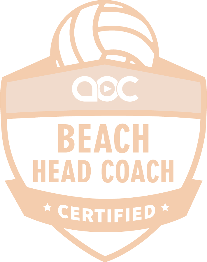 Beach Volleyball Coach Certification