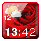 Rose Clock Weather Widget icon