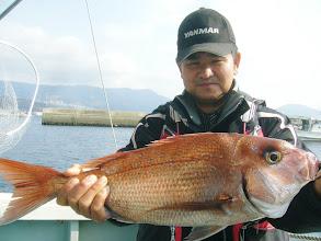 Photo: こんないいサイズの真鯛もあがりました!