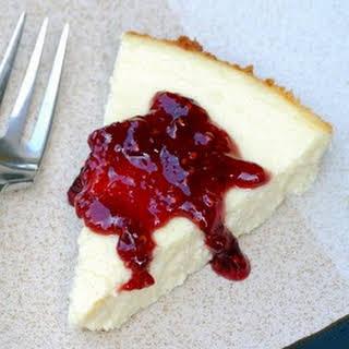 Vanilla Yogurt Cheesecake.