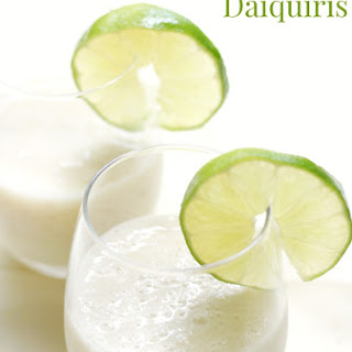 Virgin Banana Daiquiris.