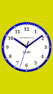 Color Analog Clock-7 - náhled