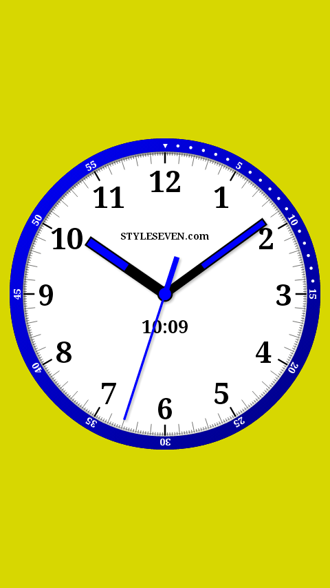 Color Analog Clock-7 - Android Apps on Google Play