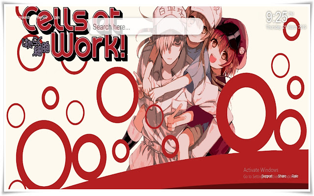 Cells At Work New Tab HD