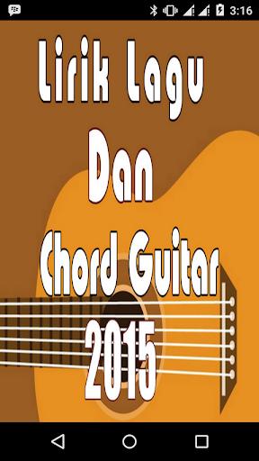 Lirik Lagu Chord Guitar 2015