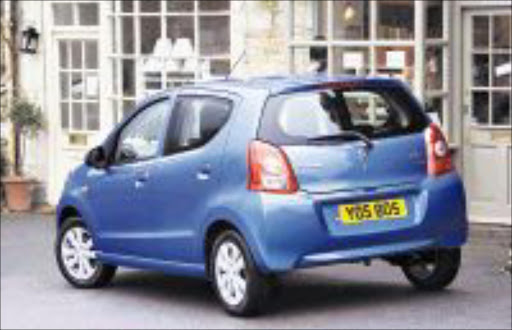 LITTLE GEM: The Suzuki Alto is compact enough to make around-town driving and parking a breeze.
