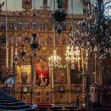 Photo: Ikonostase der griechisch-orthodoxen Patriachatskirche