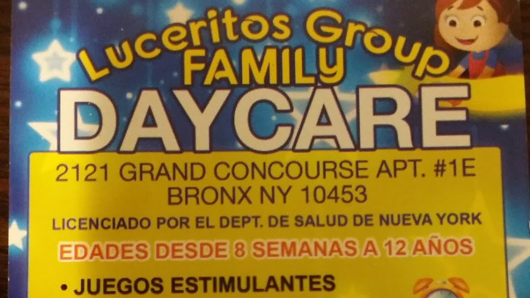 Luceritos Family Day Care Family Day Care Service In Bronx