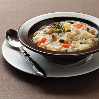 Slow Cooker Chicken Barley Stew.