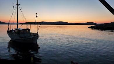 Photo: Dawn at Agios Petrus beach