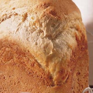 Bread Machine Crusty Sourdough Bread.