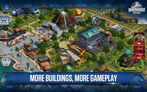 Jurassic World™: The Game Unlimited MOD 1.45.1 APK 2