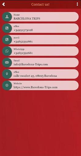 barcelona trips screenshot 2