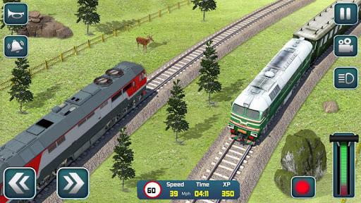 Euro Train Driver Sim 2020: 3D Train Station Games 1.4 screenshots 9