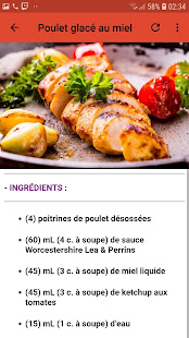 Download Recettes Poulet Facile For PC Windows and Mac apk screenshot 5