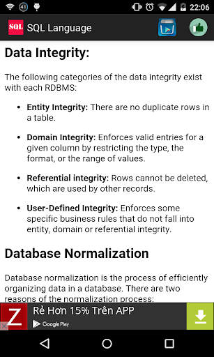 SQL Language