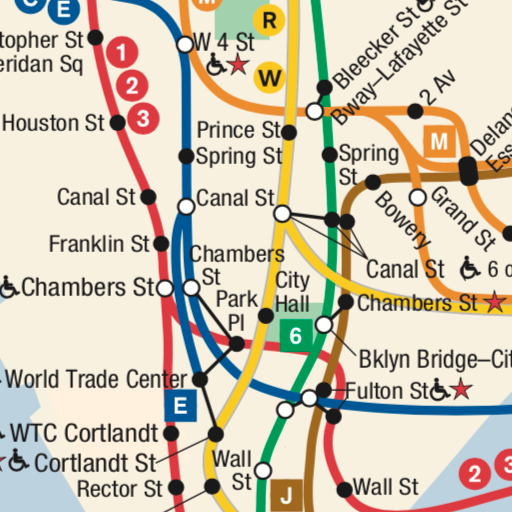 Map New York Offline.Subway Map New York Offline