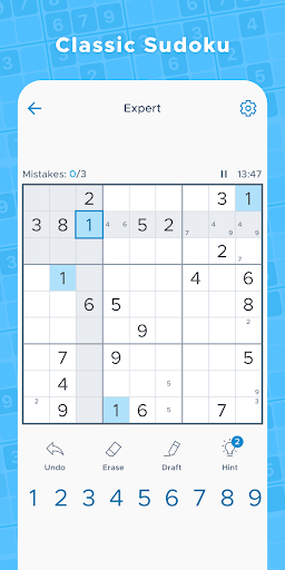 Sudoku Daily - Free Classic Offline Puzzle Game screenshots 1
