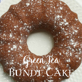 Green Tea Bundt Cake