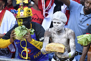 Fans during the Absa Premiership match between Orlando Pirates and Kaizer Chiefs at FNB Stadium on October 27, 2018 in Johannesburg, South Africa.
