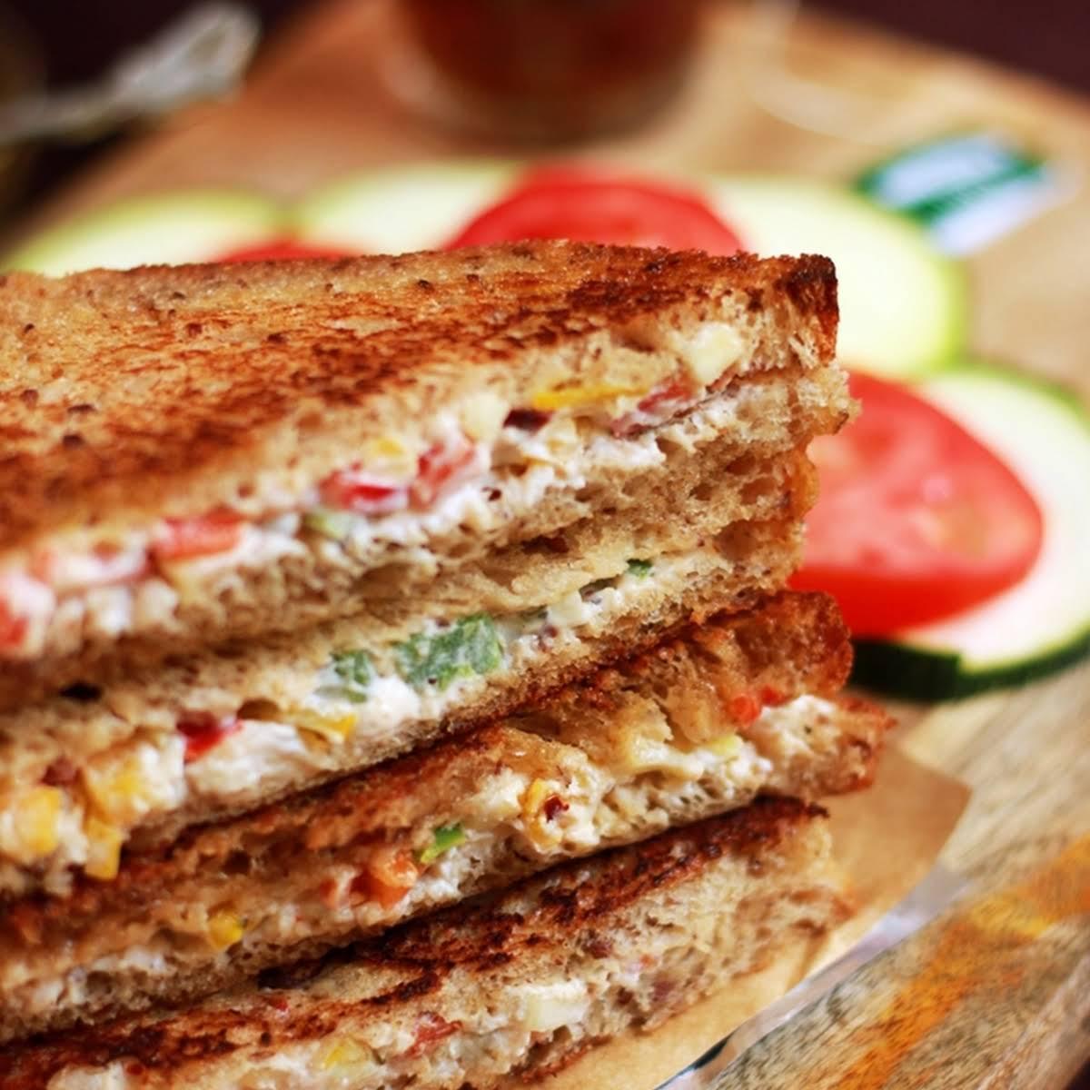 cream cheese sandwich recipe   Easy sandwich recipes