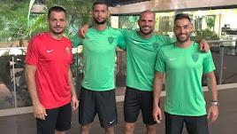 René, Joaquín, Nano y Trujillo serán los nuevos capitanes.