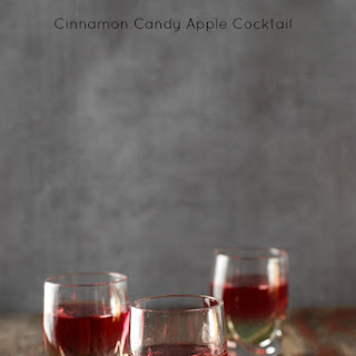Cinnamon Candy Apple Cocktail