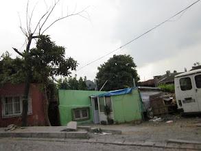 Photo: Le centre ville c'est aussi ce genre d'habitat.