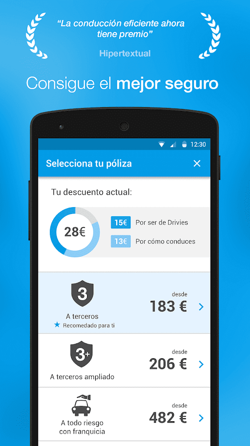 Drivies - Conduce y ahorra- screenshot